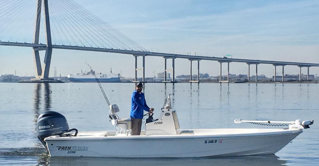 shanes new fishing boat charleston